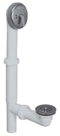 Watco Trip Lever Tub Waste & Overflow PVC Chrome Cp