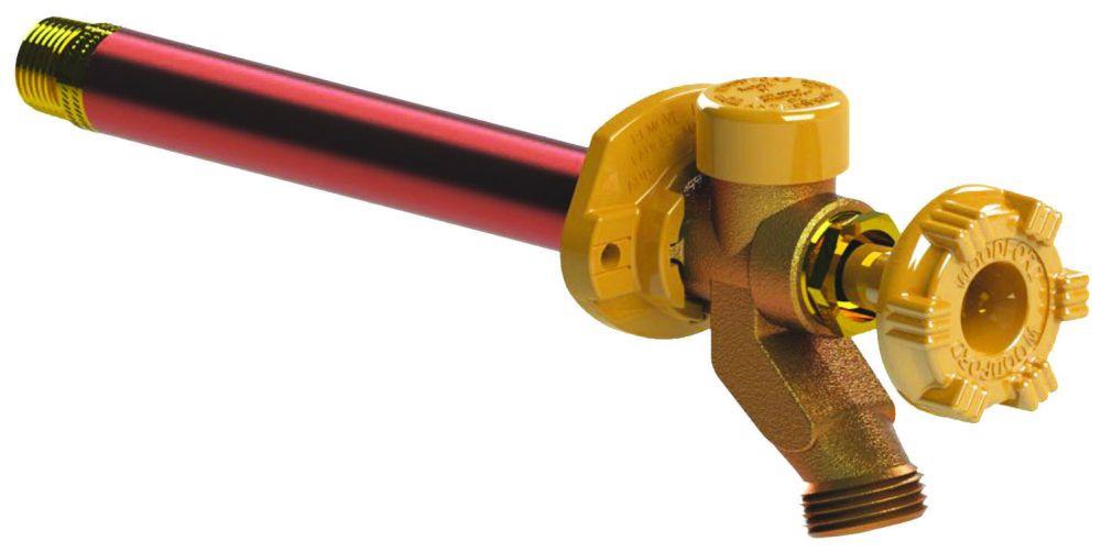 """Woodford 10"""" Wall Faucet Crimp PEX No Freeze or Siphon"""