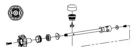 Woodford Repair Kit for Model 17 Wall Faucet