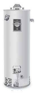 Bradford White RG240S6N 40 Gal Defender Safety System Atmospheric Vent Energy Saver Natural Gas Short Water Heater, 40K BTU
