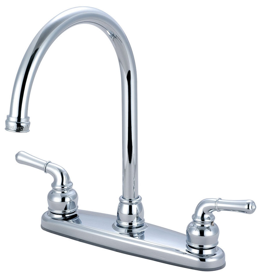 ACCENT LVR HDL SINK GN SPOUT L/SPRAY CP