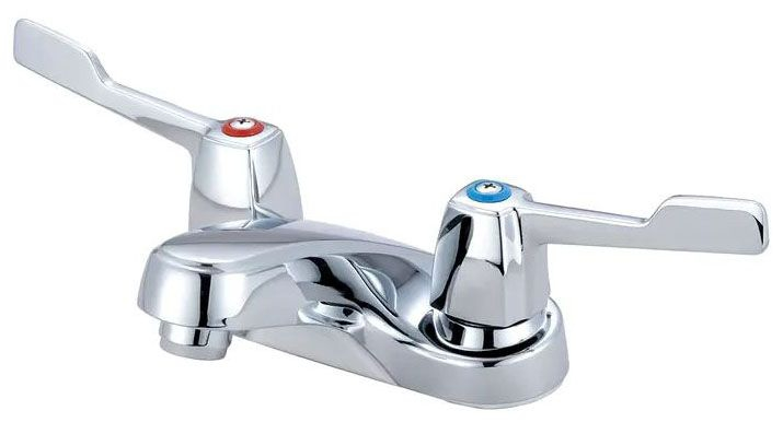 OLYMPIA 2-HANDLE CP LAVATORY FAUCET