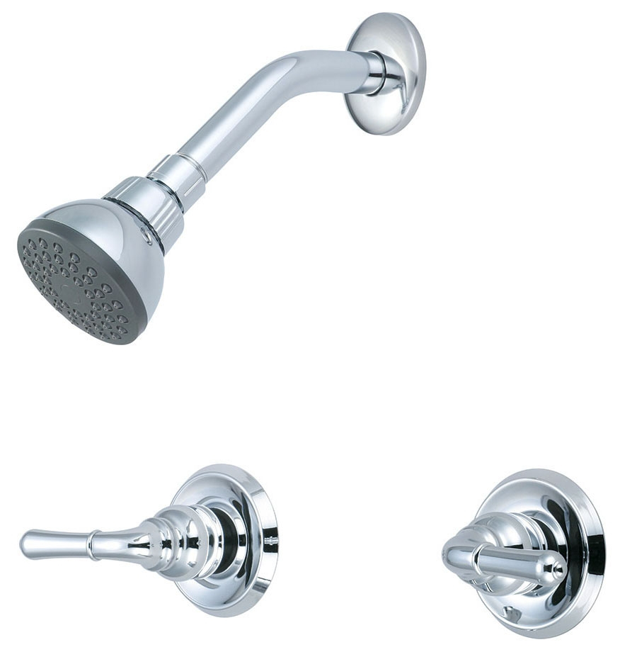 OLYMPIA 2-HDL SHOWER SET BN
