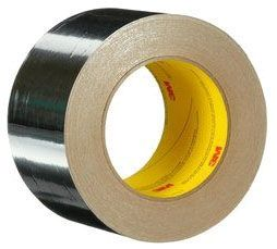 """Adhesive Foil Tape - Venture Tape, 2"""" x 50 Yd x 1.8 Mil, Silver"""