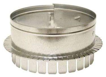 "6"" Galvanized Round Sheet Metal Duct Collar"