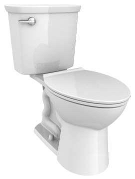 "30-3/16"" x 17-7/8"" x 32-1/4"" 1.28 GPF Wall Mount Elongated Toilet"