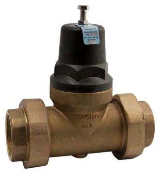 """1 -1/2"""" Bronze Balanced Piston Pressure Reducing Valve - FPT, 400 psi"""