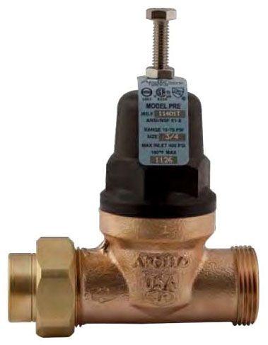 """3/4"""" Bronze Balanced Piston Pressure Reducing Valve - C, 400 psi"""