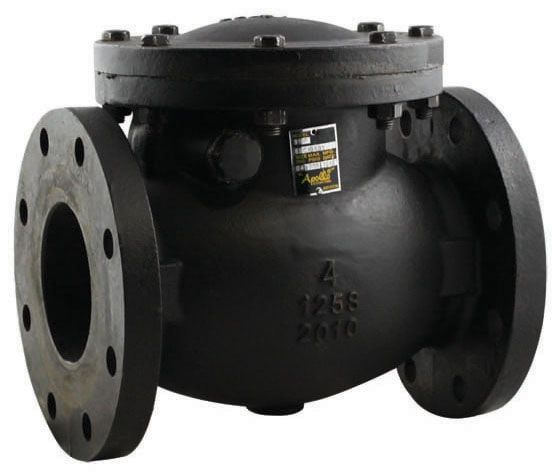 """3"""" Cast Iron Swing Check Valve - Flanged, 200 psi CWP"""