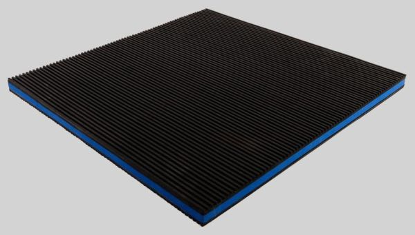 "18"" x 18"" x 7/8"" Ethylene Vinyl Acetate Anti-Vibration Pad - 50 psi"