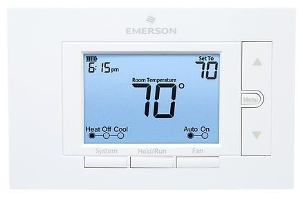"""6"""" x 1-1/8"""" x 3-3/4"""" 20 to 30 VAC 50/60 Hz 2.5 A Thermostat - Universal, 7-Day Programmable"""