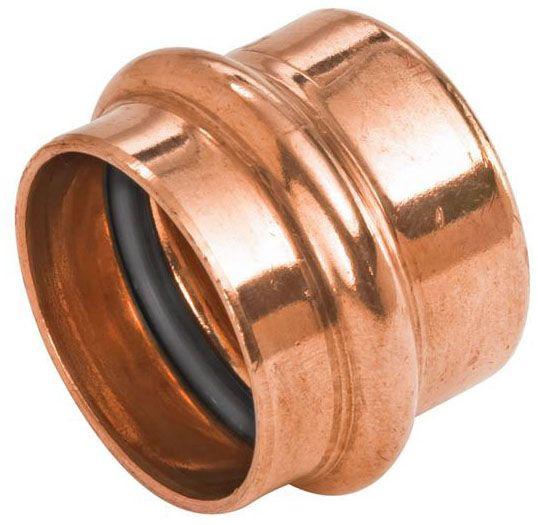 """3/4"""" Copper Press Cap"""