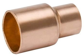 "2"" x 1-1/4"" Wrot Copper Reducing Coupling - C, 700 psi"