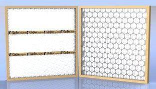 "16"" x 2"" x 20"" Fiberglass Media Disposable Panel Filter - 500 FPM, 2.22 Sq Ft, 0.28"" WG"