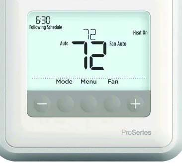"4-1/16"" x 4-1/16"" x 1-3/32"" 20 to 30 VAC 0.02 to 1 A 0.02 to 0.5 A Thermostat - Non-Programmable"