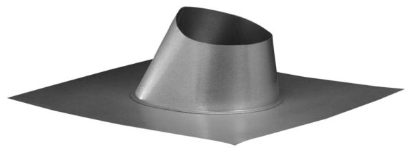 "3"" 6/12 Pitch Adjustable Double Wall Gas Vent Roof Flashing"
