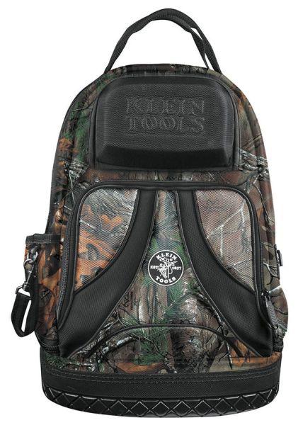 "Padded Strapped Camo Backpack - Tradesman Pro, 7.25"" x 20"", 35-Pocket Interior, 4-Pocket Exterior"