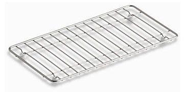 "15-3/16"" x 7-11/16"" x 1"" Stainless Steel Rack - for Undertone K-3154 / K-3155 / K-3156 / K-3157 Kitchen Sink"