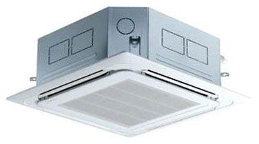 """27-9/16"""" x 27-9/16"""" x 23-31/32"""" 1-Zone 4-Way Ceiling Cassette Air Conditioner Indoor Unit - 18000 BTU/Hr, 208 to 230 VAC 60 Hz 1-Phase, R-410A"""
