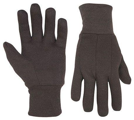 Work Gloves - Brown, Polyester