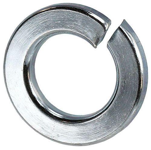 """3/8"""" Steel Split Lock Washer - Zinc Plated"""