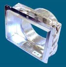 "10"" x 8"" x 8"" Sheet Metal Duct Box - DucTite, Register"