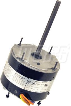 NEMA TEAO Enclosure Reversible Condenser Fan Motor - 1/4 HP, 208 to 230 V 1-Phase, 1.8 A, 1075 RPM