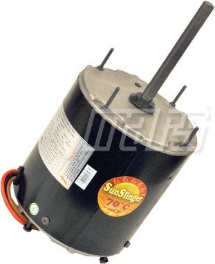 NEMA TEAO Enclosure Reversible Condenser Fan Motor - 1/3 HP, 460 V 1-Phase, 2.8 A, 1075 RPM