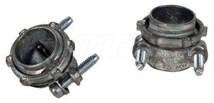 "HVAC Motor Squeeze Connector - 3/8"", Die-Cast Zinc"