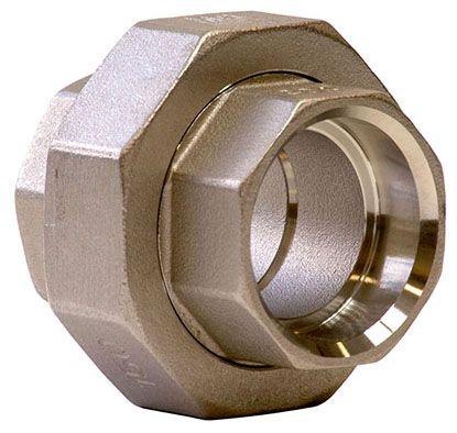 "3"" Cast Stainless Steel Straight Union - Socket Weld X Socket Weld"