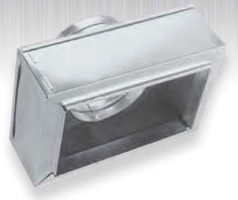 Galvanized Steel Register Sheet Metal Duct Box