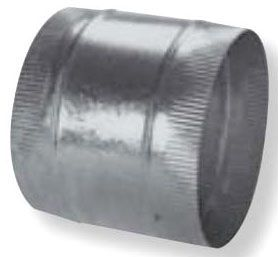 "12"" Galvanized Steel Round Flex Connector"