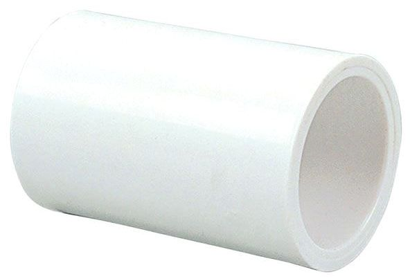 "2-1/2"" PVC-DWV Straight Coupling - PRESS SYSTEM, Slip, 2000 psi, SCH 40"