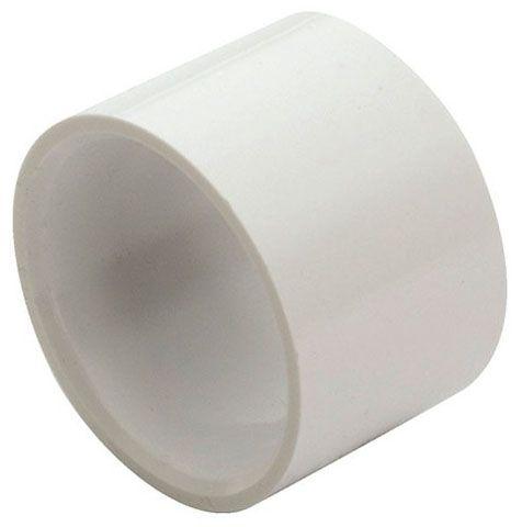 """2"""" White PVC-DWV Straight Repair Coupling - Hub"""
