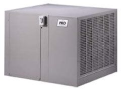 "42"" x 45"" x 34-5/16"" Down Draft High Efficiency Residential Air Cooler - AEROCOOL PRO, 3460 CFM, 1 HP"