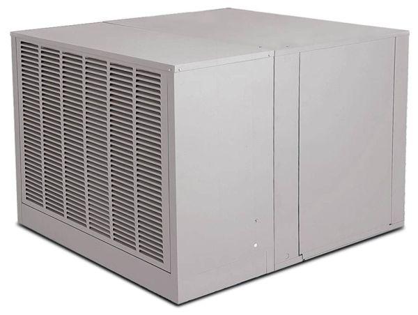 "42"" x 49"" x 34-5/16"" Down Draft High Efficiency Residential Evaporative Air Cooler - AEROCOOL TROPHY, 3680 CFM, 1 HP"