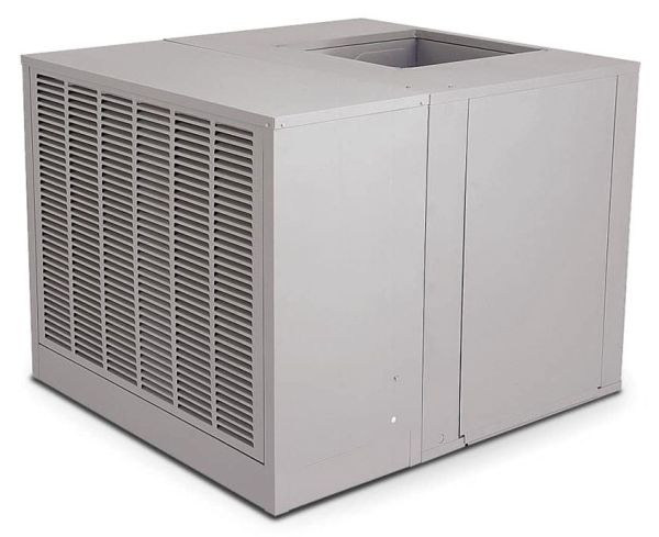"42"" x 45"" x 34-5/16"" Up Draft High Efficiency Residential Evaporative Air Cooler - AEROCOOL TROPHY, 4050 CFM, 1 HP"