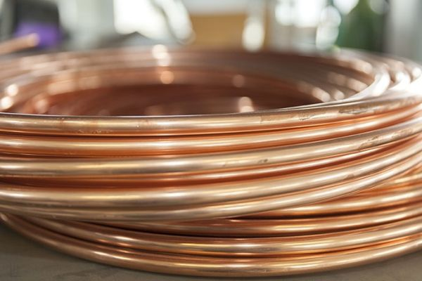 "1 -1/2"" x 10' Copper DWV Type K Plumbing Water Tube - C, 700 psi"