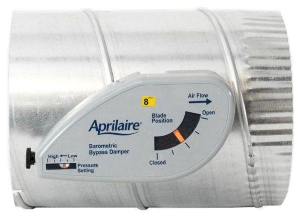 "10"" Dia Round Barometric Pressure Relief Air Flow Activated Zoned Comfort Control Damper"