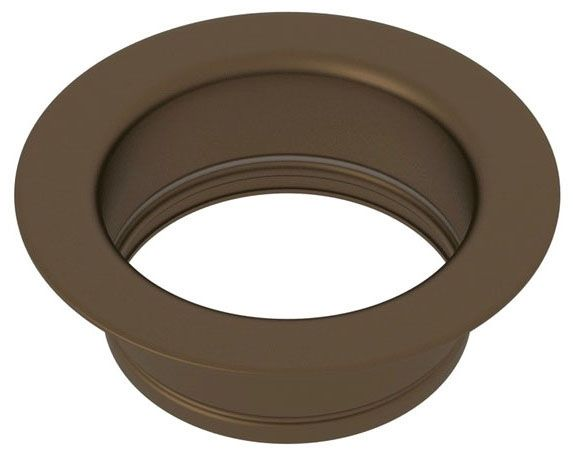 English Bronze Brass 1-Hole Deck Mount Disposal Flange - for Kitchen Aid Whirlpool Bathroom Sink