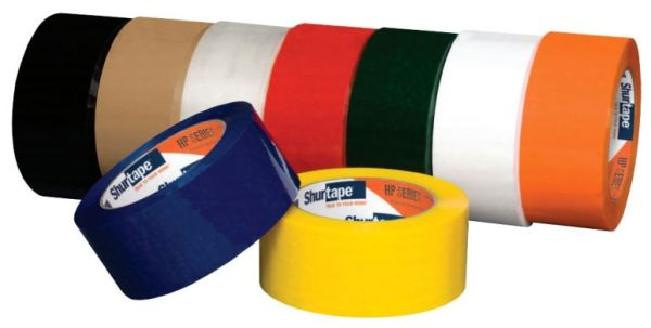 "2"" x 100 Yd x 1.8/1.9 Mil Synthetic Rubber 30 Micron Cast Biaxially Oriented Polypropylene Flagging Tape - Clear, Hot Melt"