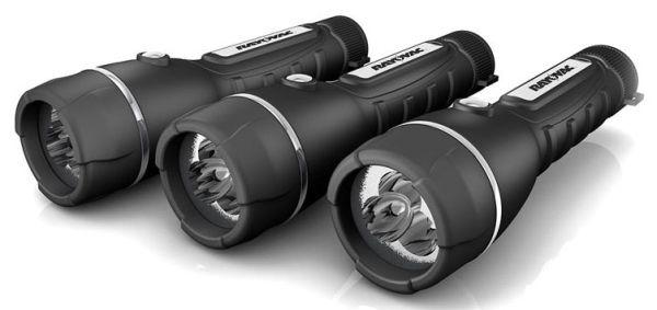 40 Lumen 50 M 4 AA Battery - Brite Essentials, LED, Heavy Duty, Garage, Rubberized, Flashlight