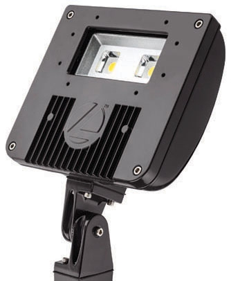lit DSXF1-LED-P2-40K LIT LED FLOOD 4000K 5573 LUMEN 1/2