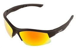 Safety Glasses-Breakout Black Red Mirror - Safety Products
