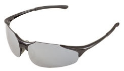 Safety Glasses-TX3 Black Silver Mirror - Head, Eye & Face