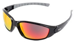 Safety Glasses-Ammo Sport Black Red - Head, Eye & Face