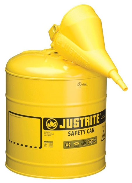 Safety Can-5gal Diesel Type 1 W/ Funnel - Site & Environmental