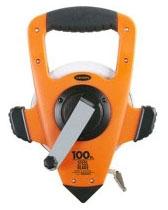 Measuring Tape-100 ft Nylon/Steel Blade - Measuring Tools
