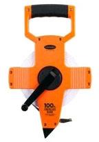 Measuring Tape-100 ft Fiberglass FT/IN - Measuring Tools