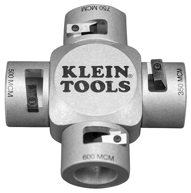 KLN 21050 KLEIN LARGE CABLE STRIPPER (750-350 MCM)